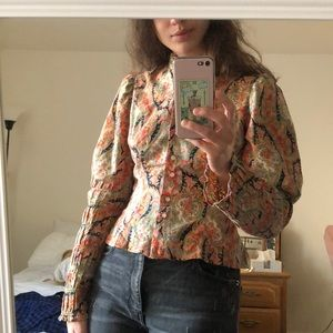 VTG: Paisley button down